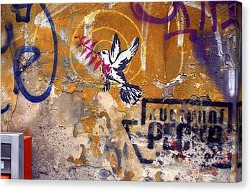 Berlin Graffiti Canvas Print