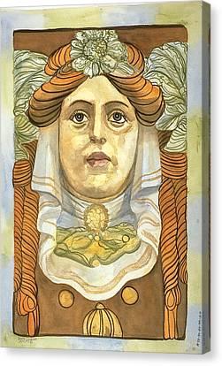 Berlin Keystone Canvas Print by Leisa Shannon Corbett