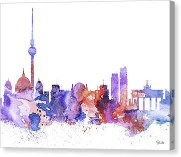 Berlin  Canvas Print by Luke and Slavi