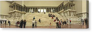 Berlin - Pergamon Museum - No.03 Canvas Print by Gregory Dyer