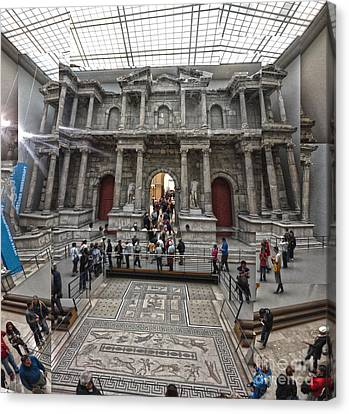 Berlin - Pergamon Museum - No.05 Canvas Print by Gregory Dyer