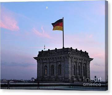 Berlin - Reichstag Roof - No.01 Canvas Print by Gregory Dyer