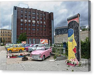 Berlin - Trabi Safari - No.01 Canvas Print by Gregory Dyer