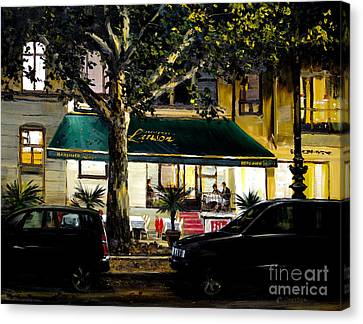 Berliner Pilsner Canvas Print by Michael Swanson
