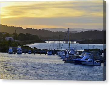 Bermagui River Sunset Canvas Print