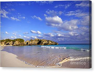Bermuda Horseshoe Bay Canvas Print