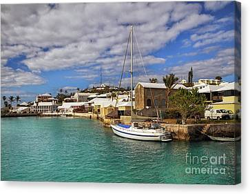 Bermuda St George Harbour Canvas Print by Charline Xia