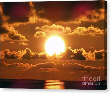Bermuda Sunset Canvas Print by Steven Spak