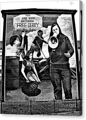 Bernadette Devlin Mural 2 Canvas Print