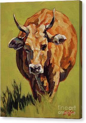 Bertha Canvas Print by Patricia A Griffin