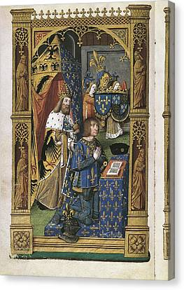 Besan�on, Master Jacques De End 15th Canvas Print by Everett