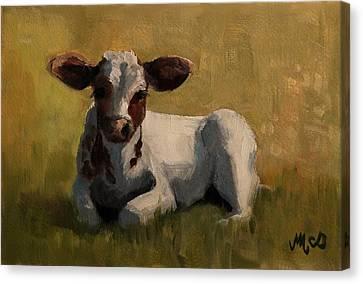 Bess Canvas Print by Maude McDonald