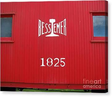 Bessemer Train Canvas Print by Michael Krek