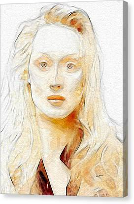 Best Actress Canvas Print by Anthony Caruso