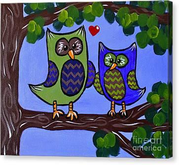 Best Buddies Canvas Print by Kimberly Wix