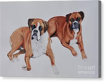 Best Friends Canvas Print by John W Walker