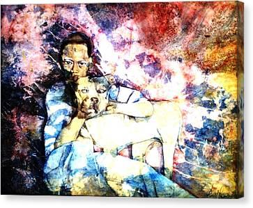 Best Friends Canvas Print by Ron Carson