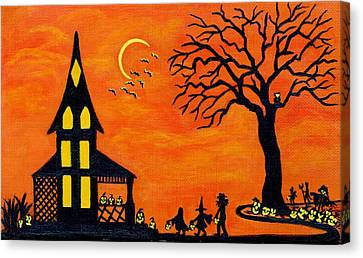 Best Night Of The Year Canvas Print by Christine Altmann