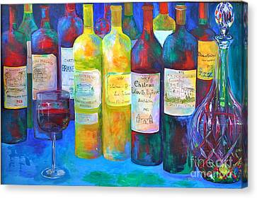 Best Of Bordeaux Canvas Print by Barbara Lynn Dunn