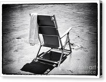 Best Seat Canvas Print by John Rizzuto