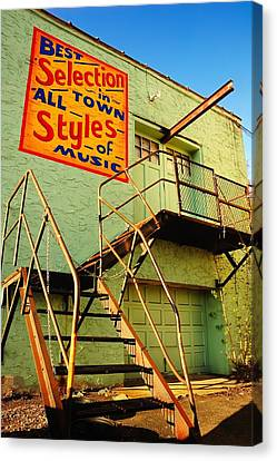 Fire Escape Canvas Print - Best Selection In Town by Jim Hughes