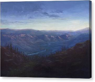 Bethel Ridge Sunrise Canvas Print