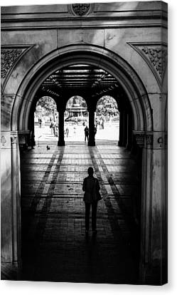 Bethesda Terrace Canvas Print