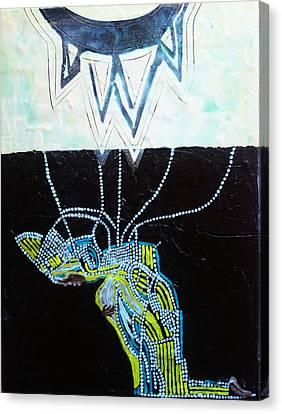 Bethlehem And Mary Canvas Print by Gloria Ssali