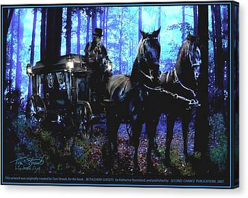 Bethlehem Ghosts Canvas Print by Tom Straub