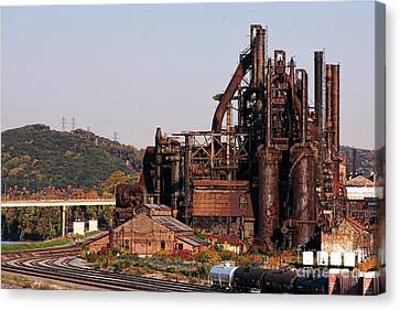 Bethlehem Steel # 8 Canvas Print
