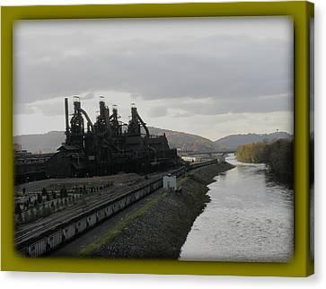 Bethlehem Steel Canvas Print