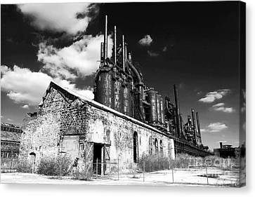 Bethlehem Steel Canvas Print by John Rizzuto