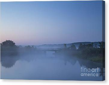 Betsie River At Dawn Canvas Print by Twenty Two North Photography