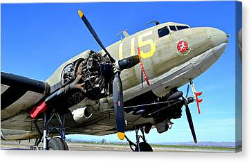 Betsy's Biscuit Bomber 2 Canvas Print by Fraida Gutovich