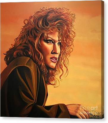 Bette Midler Canvas Print