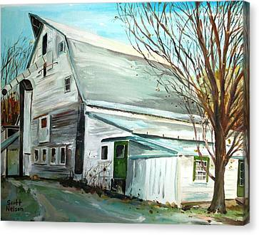 Millbury Canvas Print - Better Days by Scott Nelson