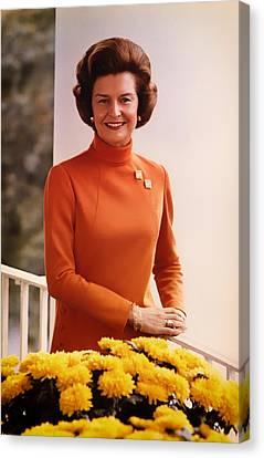 Betty Ford 1974 Canvas Print