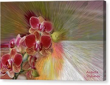 Fuschia Canvas Print - Beutiful Flower by Augusta Stylianou