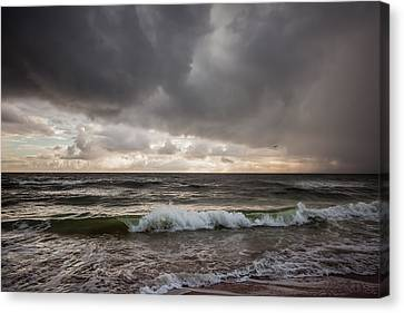 Beverly Beach Storm Canvas Print