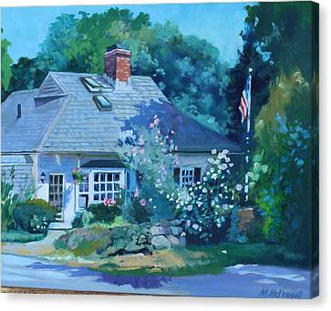 Beverly Cove Canvas Print by Michael McDougall