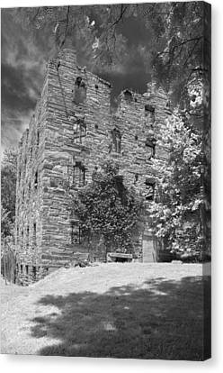 Civil War Site Canvas Print - Beverly Mill by Guy Whiteley