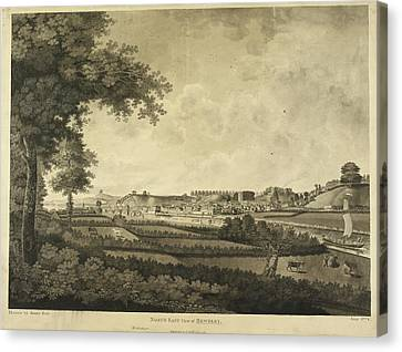 Bewdley And Surrounding Countryside Canvas Print by British Library