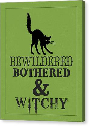 Bewitched Canvas Print by Katie Pertiet