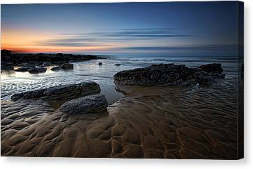 Bexhill Sunrise Canvas Print by Mark Leader