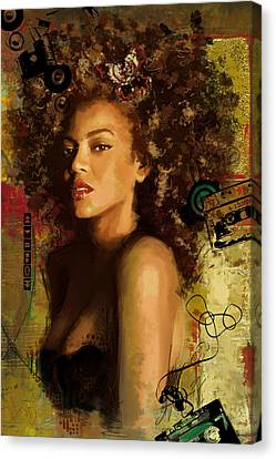 Beyonce Canvas Print by Corporate Art Task Force