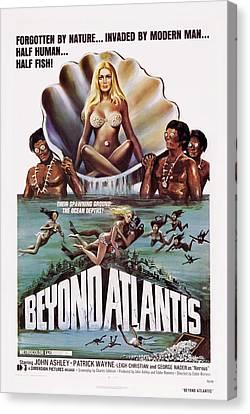 Beyond Atlantis, Us Poster Art, 1973 Canvas Print by Everett
