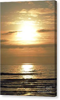 Beyond The Horizon Canvas Print by Sheldon Blackwell