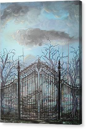 Beyond The Iron Gates Canvas Print
