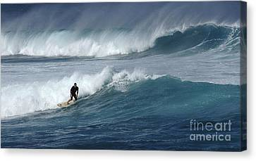 Beyond The Reef Canvas Print by Bob Christopher