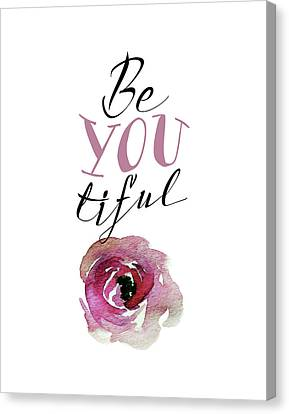 Beyoutiful Canvas Print by Tara Moss
